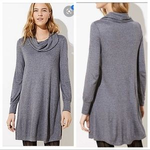 Gorgeous soft cowl neck dress from Loft i